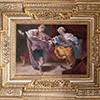 Palazzo Mattei di Giove, dekoracje sufitu jednej ze sal, Sceny z życia Józefa - Józef i żona Potifara, Giovanni Lanfranco