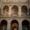 Palazzo Mattei di Giove, widok dziedzińca pałacu