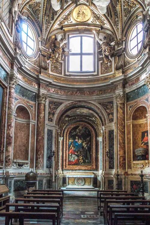 Carlo Rainaldi, Cappella San Borromeo, kościół Santa Maria in Vallicella