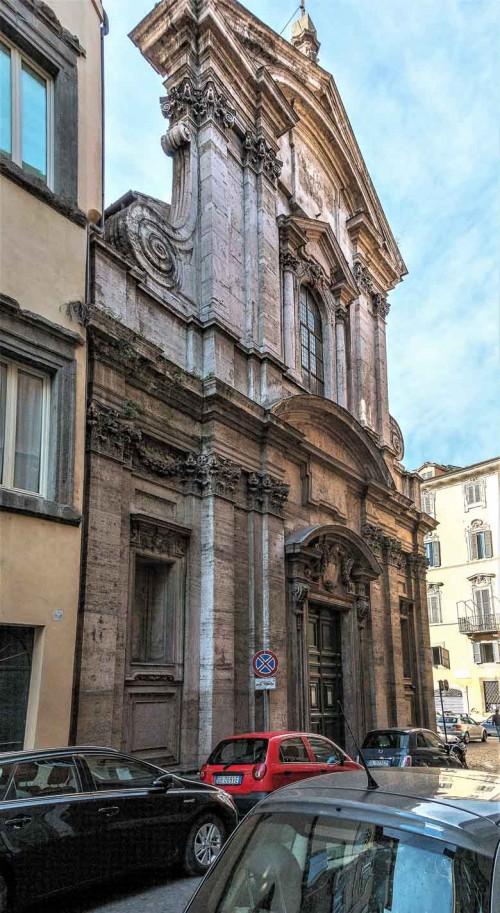 Carlo Rainaldi, fasada kościoła San Girolamo della Carità