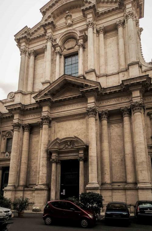 Carlo Rainaldi, fasada kościoła Santa Maria in Campitelli