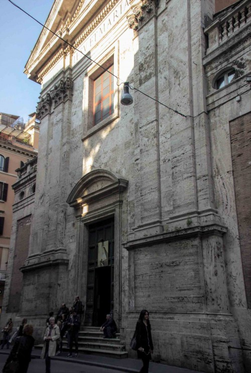 Carlo Rainaldi, fasada kościoła Santissimi Nomi di Gesù e Maria