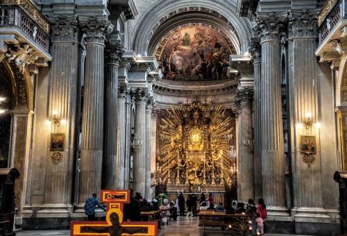 Carlo Rainaldi, wnętrze kościoła Santa Maria in Campitelli