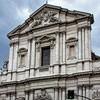 Carlo Rainaldi, górna część fasady, kościół Sant'Andrea della Valle
