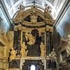 Carlo Rainaldi, pomnik nagrobny kardynała Bonellego w bocznym wejściu do bazyliki Santa Maria sopra Minerva