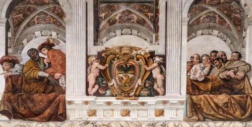 Carlo Saraceni i inni malarze, malowidła w Sala Regia, Palazzo del Quirinale