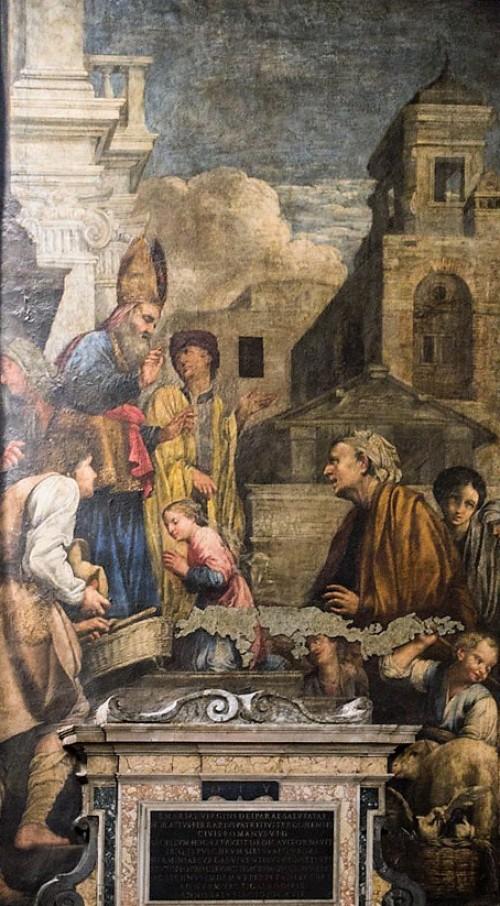 Carlo Saraceni, sceny z życia Marii, kościół Santa Maria in Aquiro