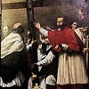 Carlo Saraceni, Charles Borromeo in the Procession of the Holy Cross, Church of San Lorenzo in Lucina