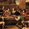 Carlo Saraceni, Łazarz na uczcie u bogacza, Musei Capitolini