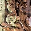 Fontana della Rotonda, delfiny z początku XVIII w.