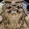 Fontana della Rotonda, herb papieża Klemensa XI