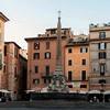 Piazza della Rotonda o świcie