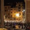 Piazza della Rotonda w nocy