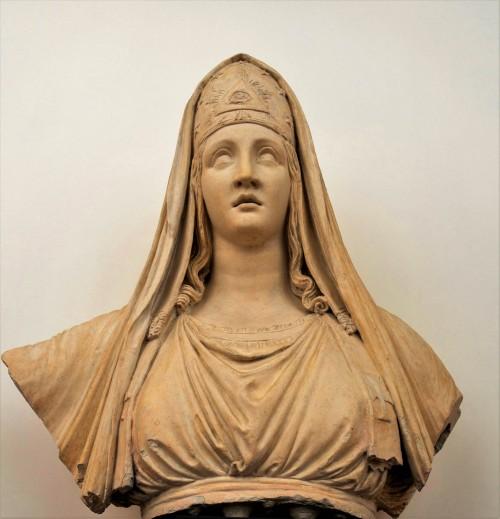 Antonio Canova, Allegory of Religion, plaster cast, Accademia Nazionale di San Luca