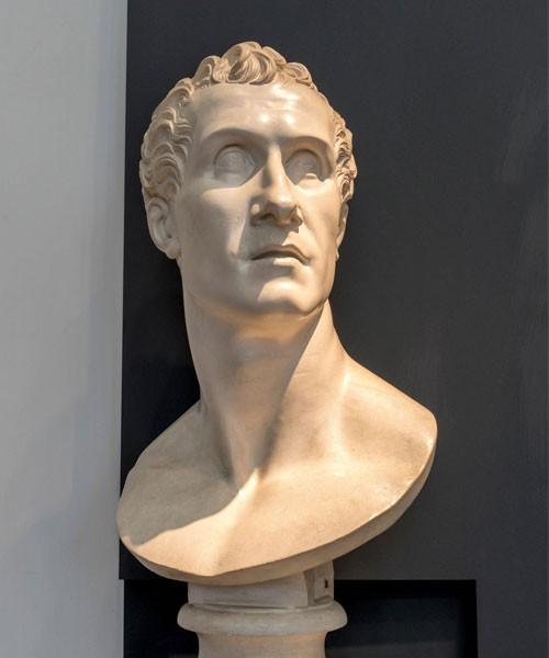 Antonio Canova, Self-portrait, Accademia Nazionale di San Luca