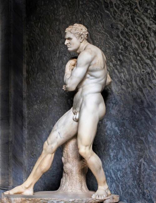 Antonio Canova, bokser Damoksenos, Musei Vaticani - Museo Pio-Clementino