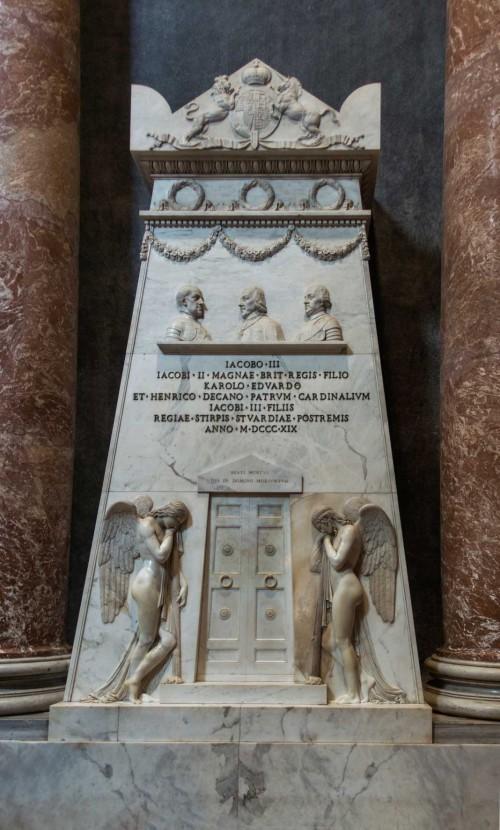 Antonio Canova, grobowiec Stuartów, bazylika San Pietro in Vaticano