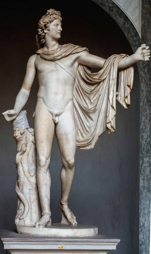 Antonio Canova, Perseusz z głową Meduzy, Musei Vaticani - Museo Pio-Clementino