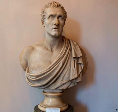 Antonio Canova, bust of  Filippo Albaciniego, Accademia Nazionale di San Luca