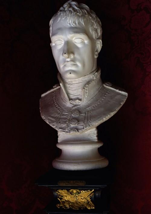 Antonio Canova, bust of Napoleon Bonaparte, plaster cast, Accademia Nazionale di San Luca