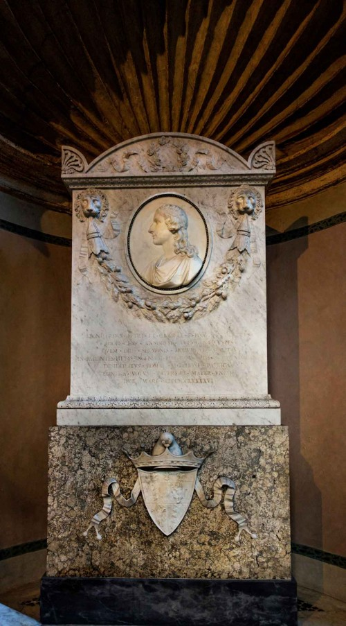 Antonio  Canova, postument nagrobny Leonarda Pesaro, bazylika San Marco