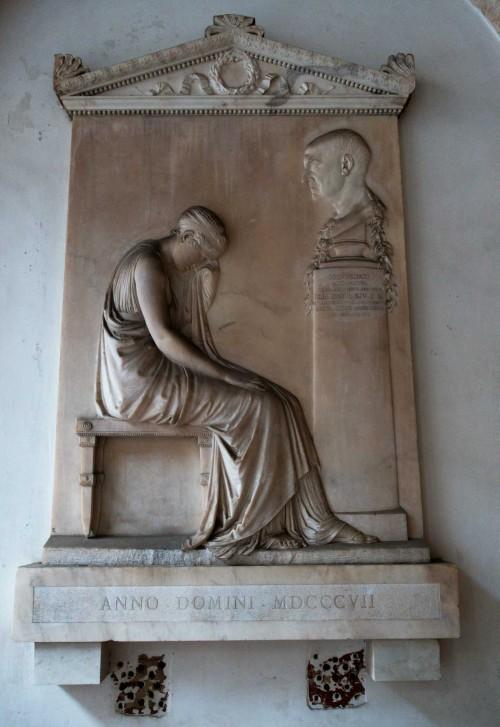 Antonio Canova, tombstone of Giovanni Volpato, Basilica of Santi Apostoli