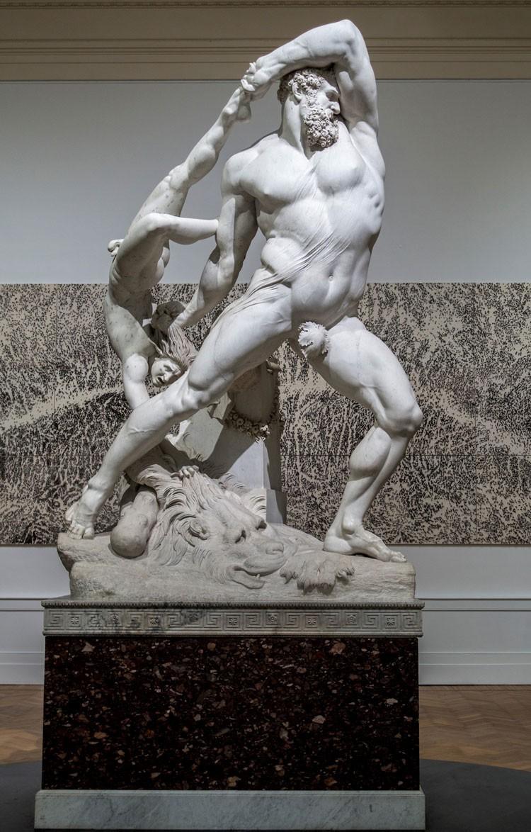 Antonio Canova, Hercules and Lichas, Galleria Nazionale d'Arte Moderna