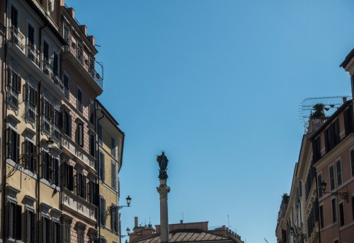 Column of the Immaculate Conception at Piazza di Spagna