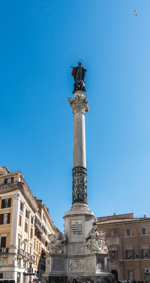 Kolumna Niepokalanego Poczęcia przy Piazza di Spagna