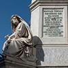 Kolumna Niepokalanego Poczęcia, posąg Izajasza (Salvatore Revèlli) i Ezechiela (Carlo Chelli) - po prawej
