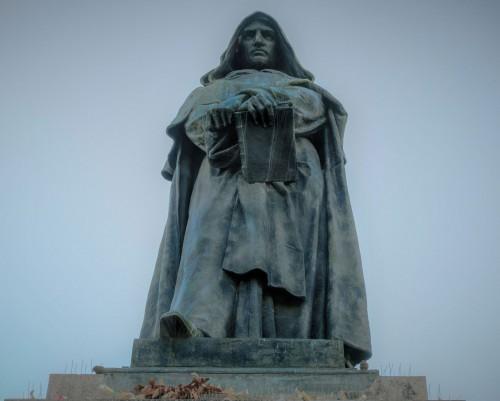 Pomnik Giordano Bruna, Ettore Ferrari