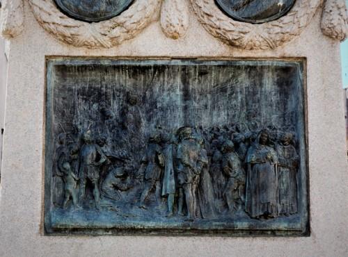 Spalenie Giordana Bruna, pomnik filozofa na Campo de'Fiori