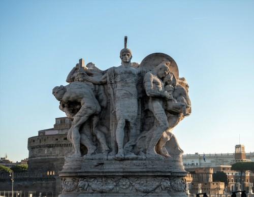 Ponte Vittorio Emanuele II - Bravery, Italo Griselli