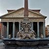 Piazza della Rotonda, fontanna z obeliskiem Macuteo