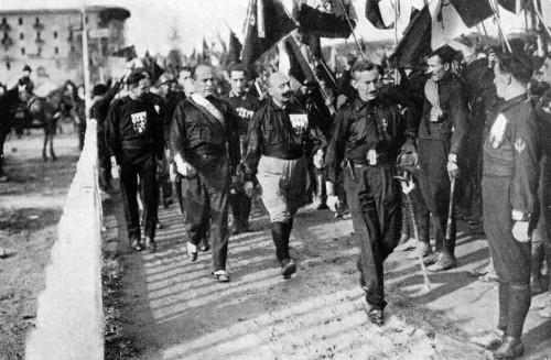 Marsz na Rzym, zdj. Wikipedia