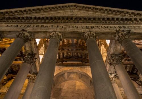 Pantheon, temple portico