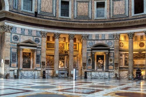 Pantheon, interior