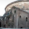 Pantheon and the remains of the Basilica of Neptune