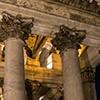 Pantheon, Corinthian capitols in the vestibule