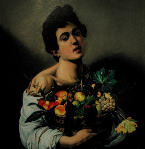 Caravaggio, Boy with a Basket of Fruit, Galleria Borghese