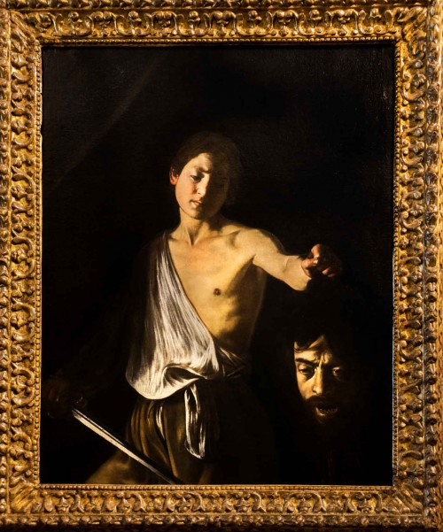 Caravaggio, David with the Head of Goliath, Galleria Borghese