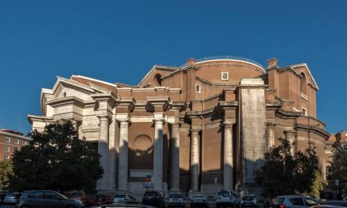 Armando Brasini, kościół Sacro Cuore Immacolato di Maria pozbawiony planowanej monumentalnej kopuły