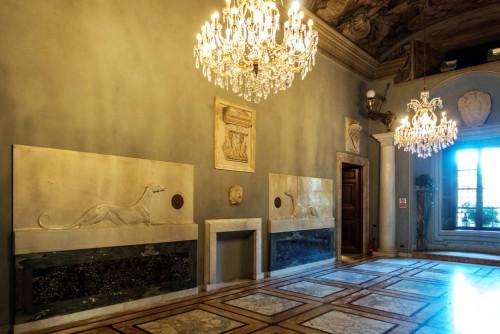 Armando Brasini, Villa Brasini, jedno z pomieszczeń willi architekta