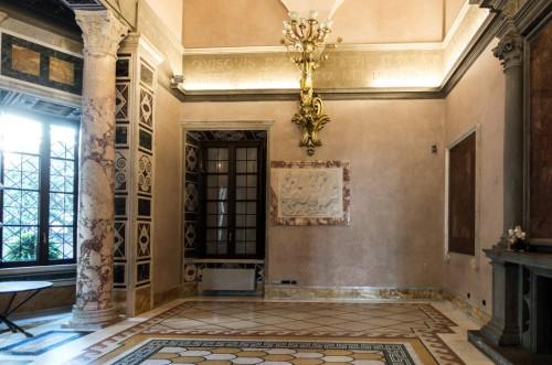 Armando Brasini, Villa Brasini, pomieszczenia mieszkalne