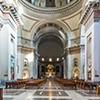 Armando Brasini, kościół Sacro Cuore Immacolato di Maria, wnętrze