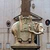 Obelisk Minerveo wg projektu Gian Lorenza Berniniego