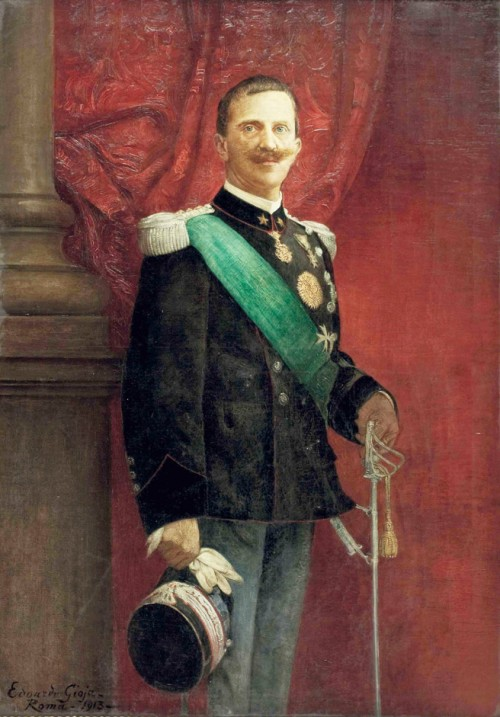 Wiktor Emanuel III, 1913 r., zdj. Wikipedia