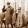 Król Wiktor Emanuel III z Albertem, królem Belgii, zdj. Wikipedia