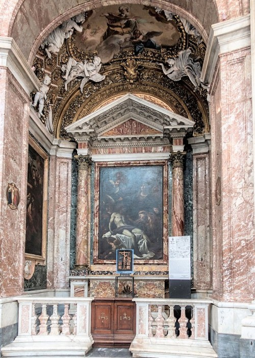 Church of Sant'Andrea al Quirinale, Chapel of the Pieta, The Lamentation, Giacinto Brandi