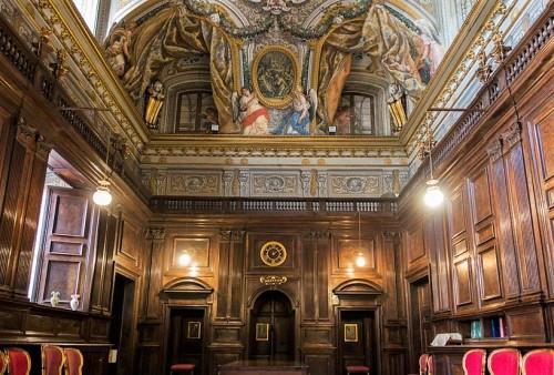 Sant'Andrea al Quirinale, zakrystia kościoła
